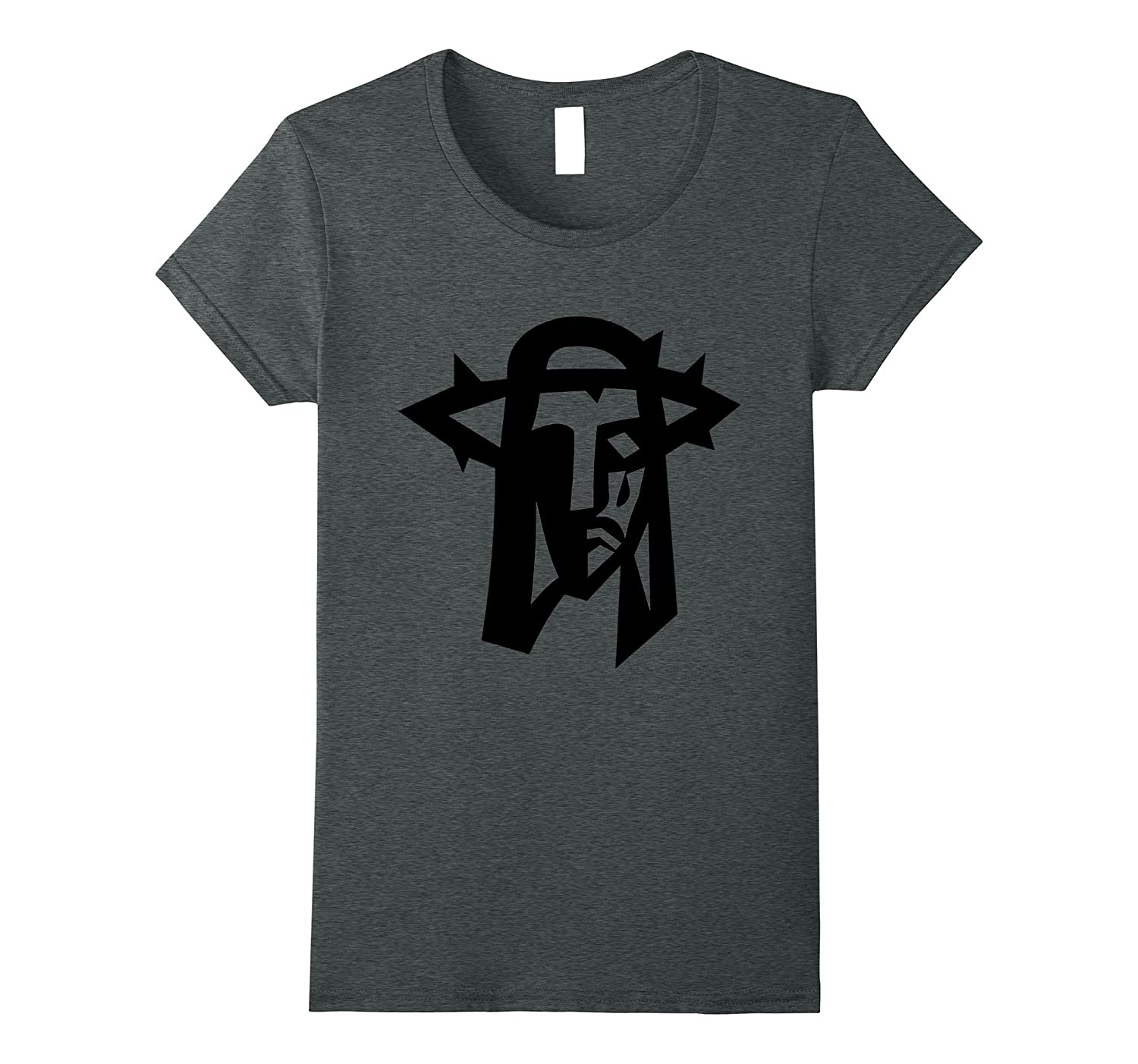 The Face of Jesus Crown of Thorns T-Shirt-Teevkd