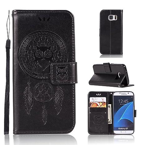 BCIT Samsung Galaxy S7 Funda - [Patrón de búho] Carcasa ...