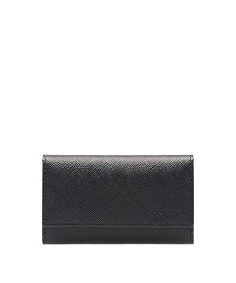7e35645c3adf ... aliexpress prada saffiano leather key holder wallet black nero a80db  a5452