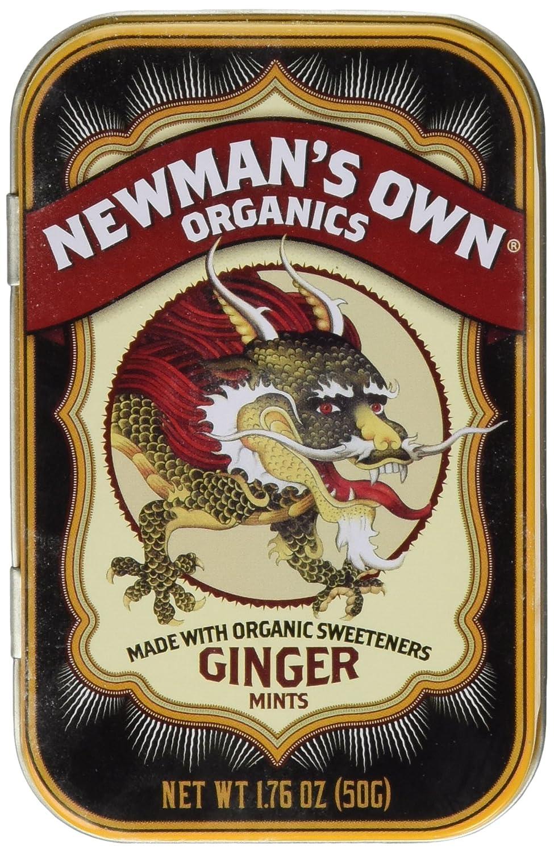Newman's Own Organics Organic Ginger Mints - 1.76 Ounces