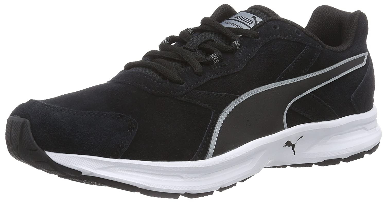 056954211f04e8 Puma Men s Descendant v3 Suede Running Shoes  Buy Online at Low Prices in  India - Amazon.in