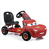 Hauck Cars Rayo McQueen Kart a pedales para niños | Neumáticos con perfil de goma |