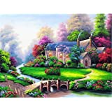 Kasting Diamond Painting Kit, Full Drill 5D DIY Rhinestone Embroidery Cross Stitch Kit Diamond Art Craft for Home Wall…