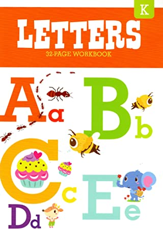 Libros educativos de jardín de Infancia, Letras: Amazon.es: Juguetes y juegos
