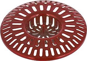 Kitchen Tub Food Cover Stopper - Hair Catcher Trap Basket for Bathroom Sink - Drain Strainer for Shower Bathtub