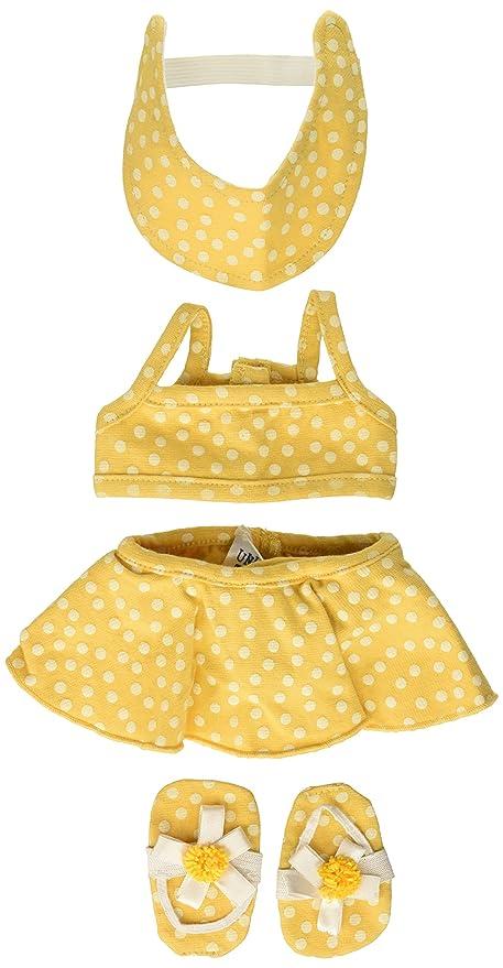 Bikini dot picture polka yellow