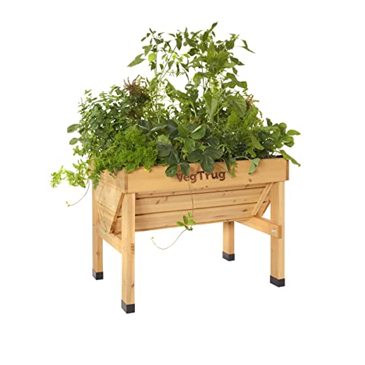 vegtrug Bancal vegtrug Small l100 cm marrón: Amazon.es: Jardín
