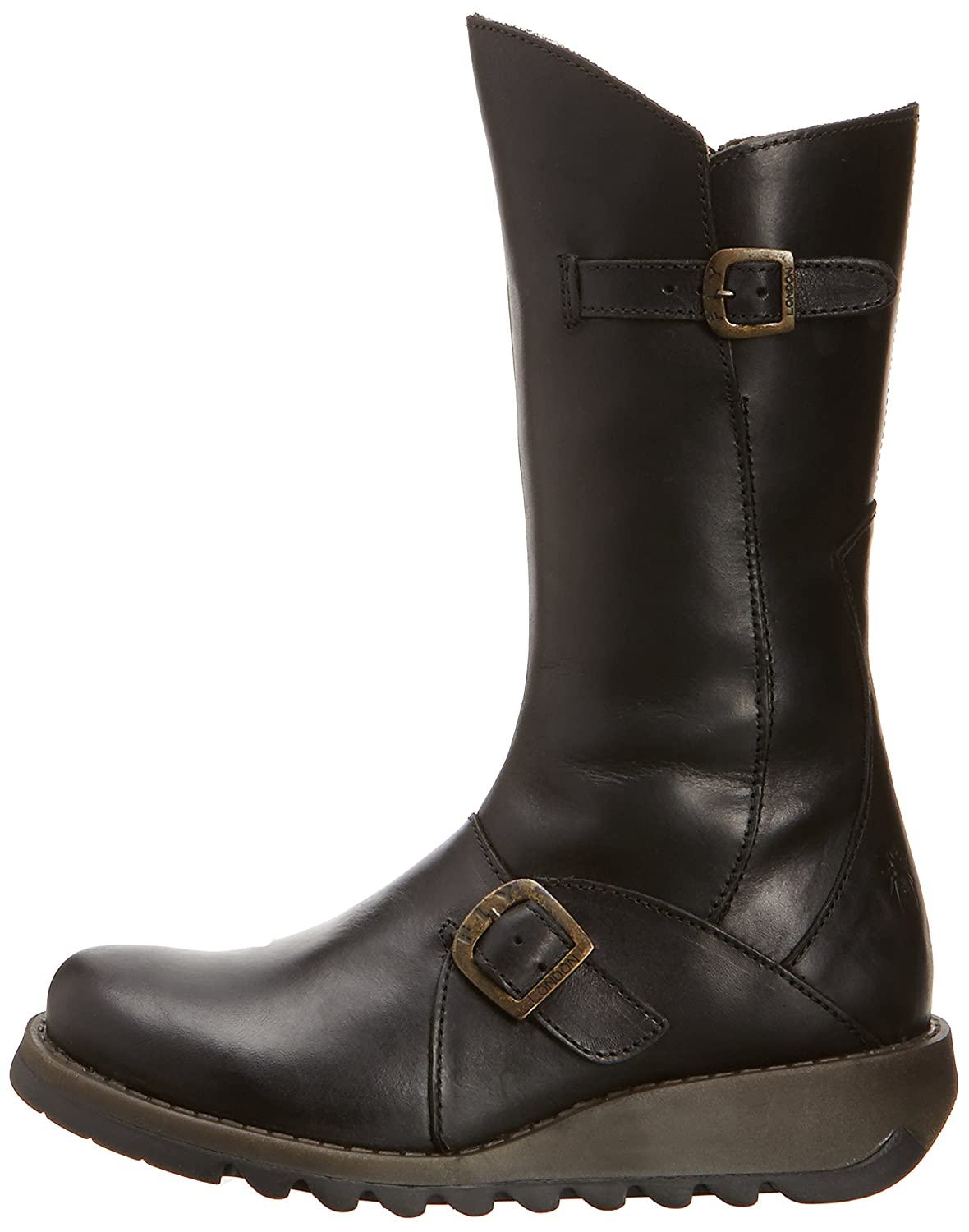 FLY London Womens Mes Leather Boot