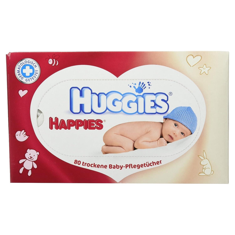 Huggies Happies Lot de soins, lingettes, 1980: Amazon.es: Salud y cuidado personal