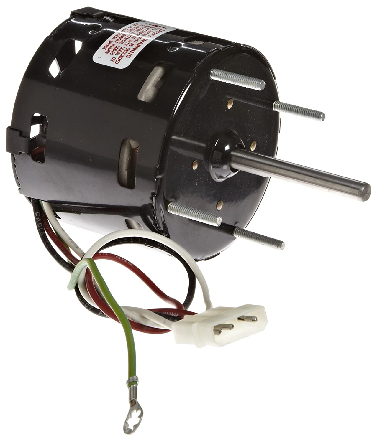 Fasco D1100 3.3' Frame Shaded Pole Loren Cook OEM Replacement Motor with Sleeve Bearing, 1/50HP, 1550/900rpm, 115V, 60 Hz, 1.2/0.7amps Fasco Motors