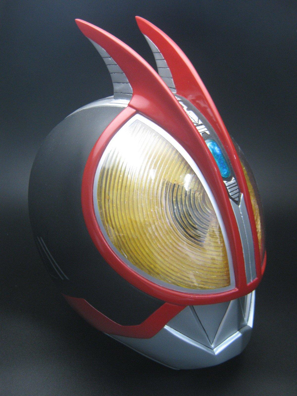 1:1 Wearable Kamen Rider Faiz 555 Fiberglass Helmet Cosplay by CustomMade