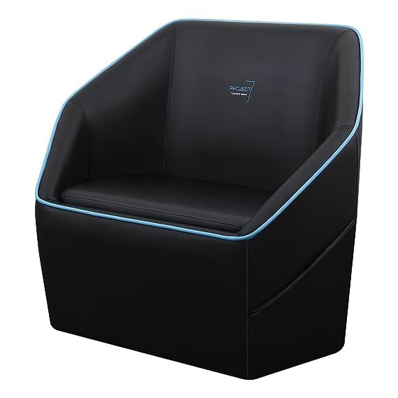 Aerocool P7CH1 - Sofá gaming para gamers (superficie del asiento de espuma de alta densidad, material transpirable, bolsillos laterales, ...