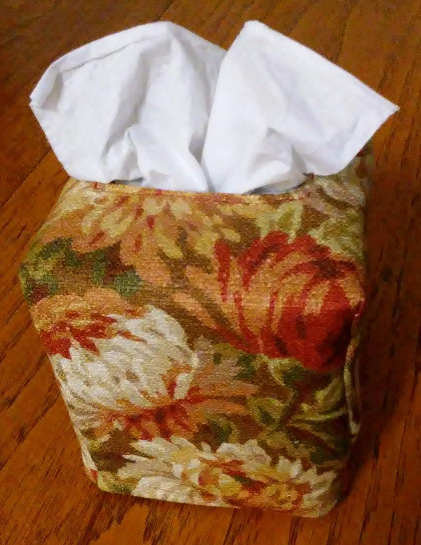 Fall Tissue Box Cover Free Shipping Tissue Box Cover Square Glittering Colorful Leaves Design Fabric Tissue Box Cover
