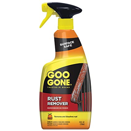 Amazon Com Goo Gone Rust Remover Outdoor And Indoor Metal Rusting
