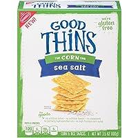 12-PK Good Thins Gluten Free Sea Salt Corn Crackers Deals