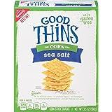 Good Thins Corn Crackers, Sea Salt, 3.5 Ounce (Pack of 12)