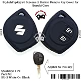 StylishFlipKeys® Silicone Key Cover for Maruti Suzuki 2 Button Remote Key