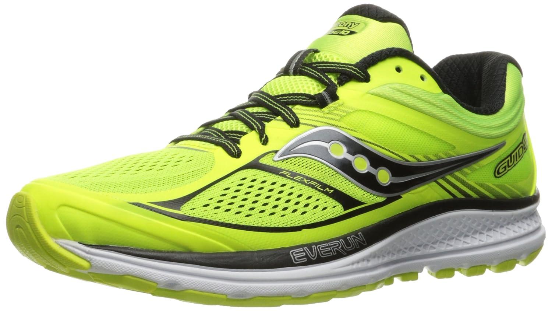 Saucony Men's Guide 10 Running Shoe B01GIP4LKK 11 D(M) US|Lime/Black/Citron