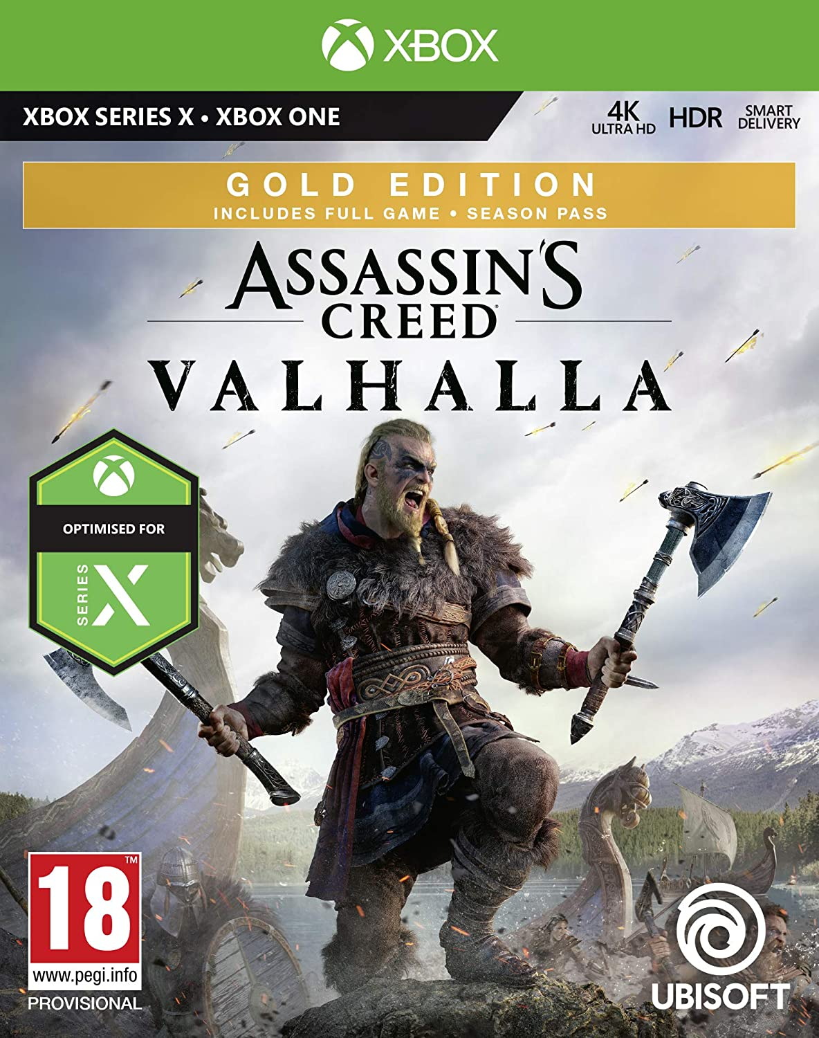 Assassin S Creed Valhalla Gold Xbox One Series X Amazon Co Uk