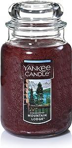 Yankee Candle Large Jar Candle, Mountain Lodge