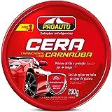Cera Pasta com Carnaúba Proauto 200g