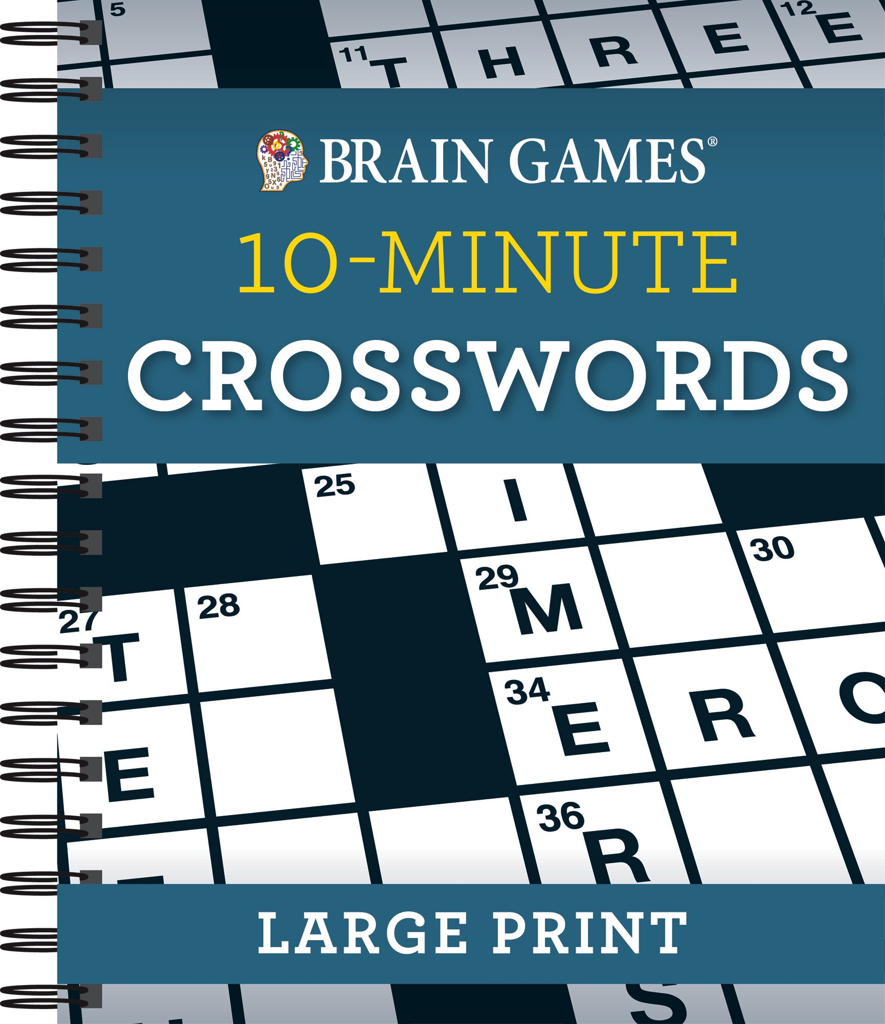Brain Games® 10-Minute Crossword Puzzles - Large Print PDF
