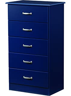 Lang Furniture Special 5 Drawer Chest With Roller Glides, 16 By 24 By 44