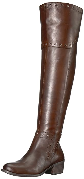 bdcbe4b9eea4 Vince Camuto Women s BESTAN Over The Over The Knee Boot Carob 5 Medium US