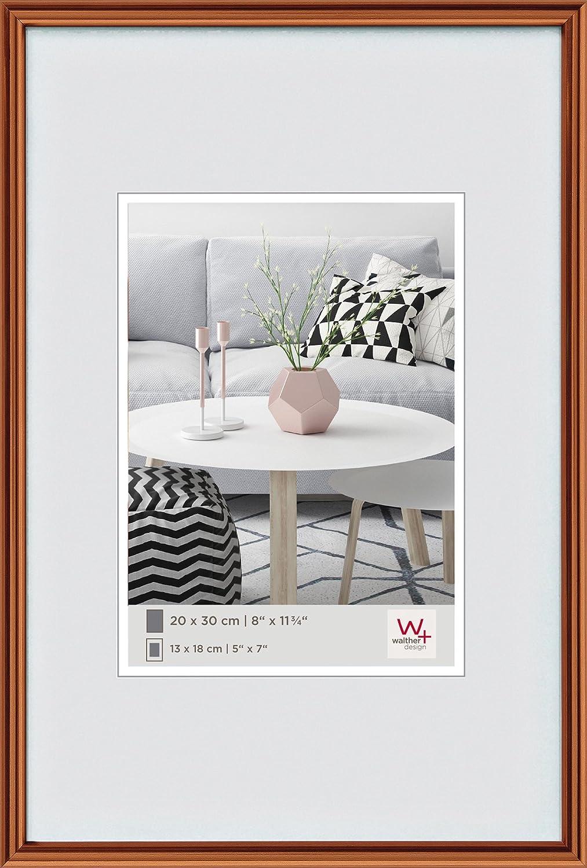Amazon.de: Walther Design Galeria Bilderrahmen, Plastik, Kupfer, 30 ...