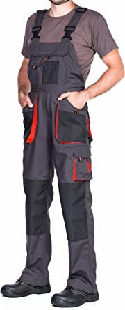 Pantalones De Trabajo Para Hombre Pantalon De Seguridad Pantalones Con Peto De Trabajo Para Hombre Ropa Hombre Bolsillos Multiusos S 3xl Con Rodilleras Trabajo Amazon Es Ropa Y Accesorios