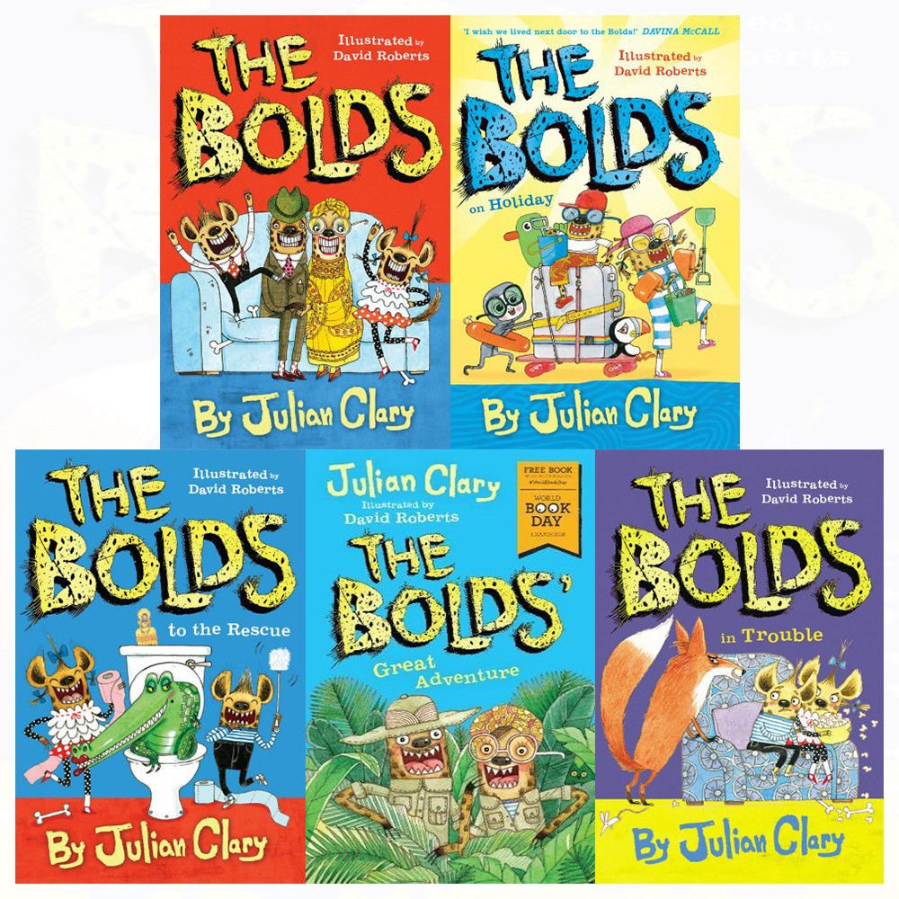 Download Bolds in trouble[hardcover], great adventure,holiday,the rescue 5 books collection set pdf