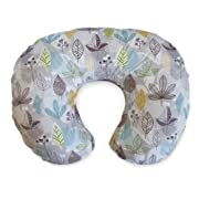 Boppy Cotton Blend Nursing Pillow and Positioner, Colorful Leaves