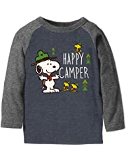 Jumping Beans Toddler Boys 2T-5T Snoopy Happy Camper Graphic Tee