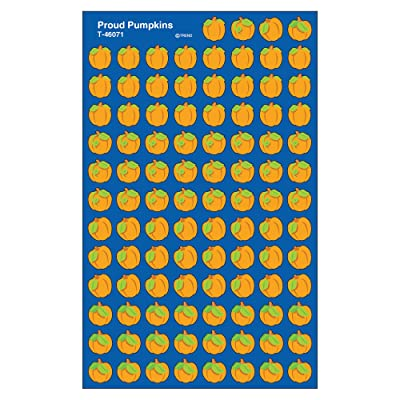 Trend Enterprises Proud Pumpkins Super Shapes Stickers (800 Piece), Multi: Toys & Games