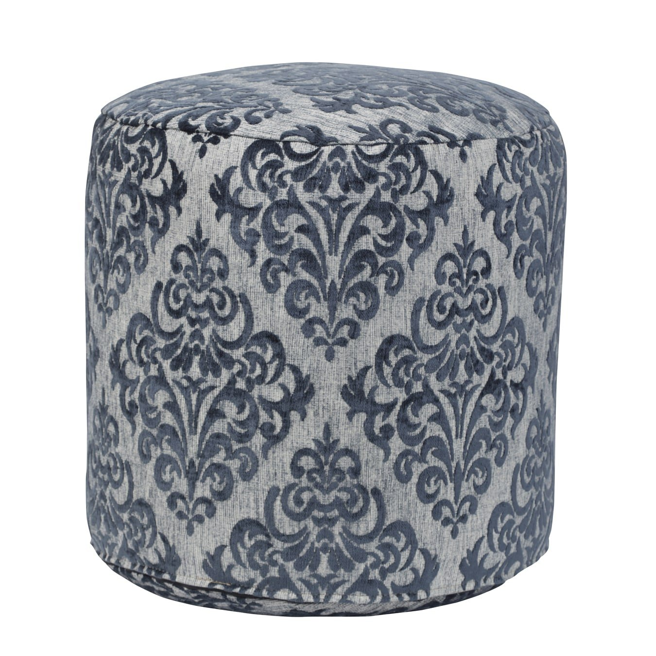 American Furniture Classics Yamerican Furniture Classicsorkshire Tapestry Pouf Ottoman, Turquoise