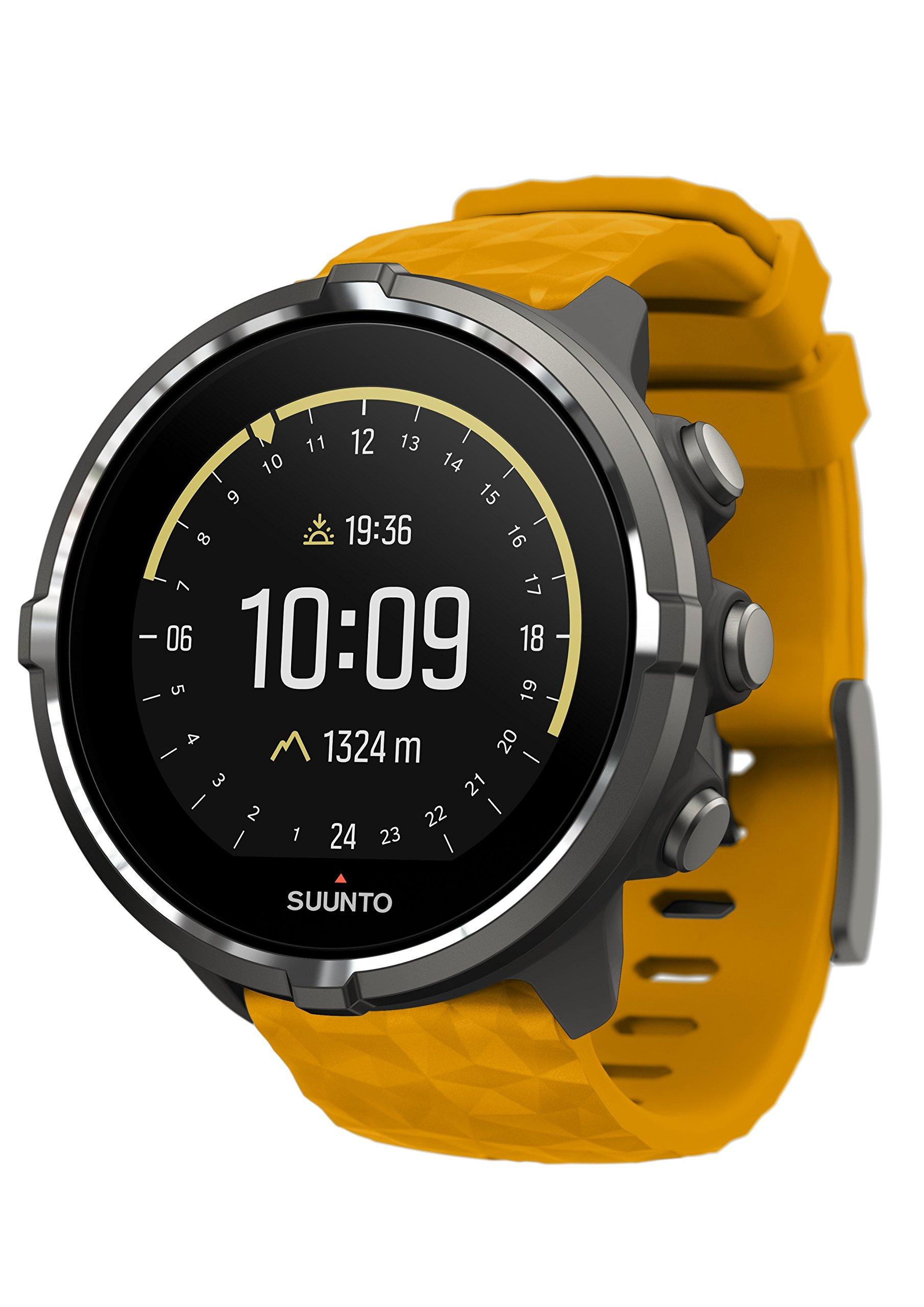 Suunto Sport Wrist HR Baro Amber Watch