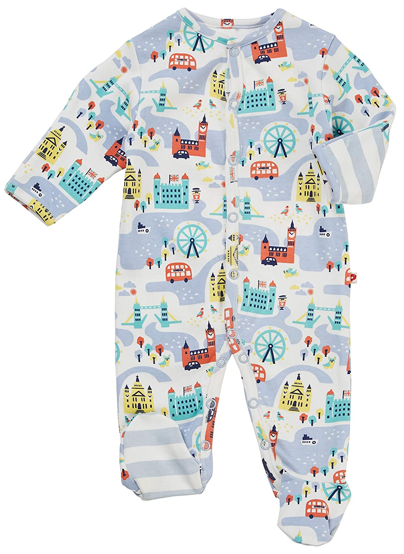 Piccalilly London - Pijama de bebé con pies, algodón orgánico ...