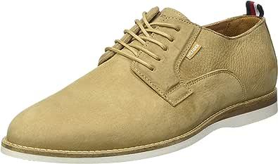 Tommy Hilfiger Casual Spring Nubuck Shoe, Derby Hombre