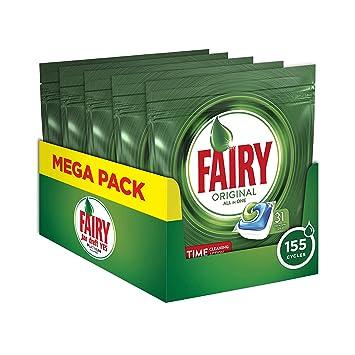 Fairy Original - Detergente en cápsulas para lavavajillas ...