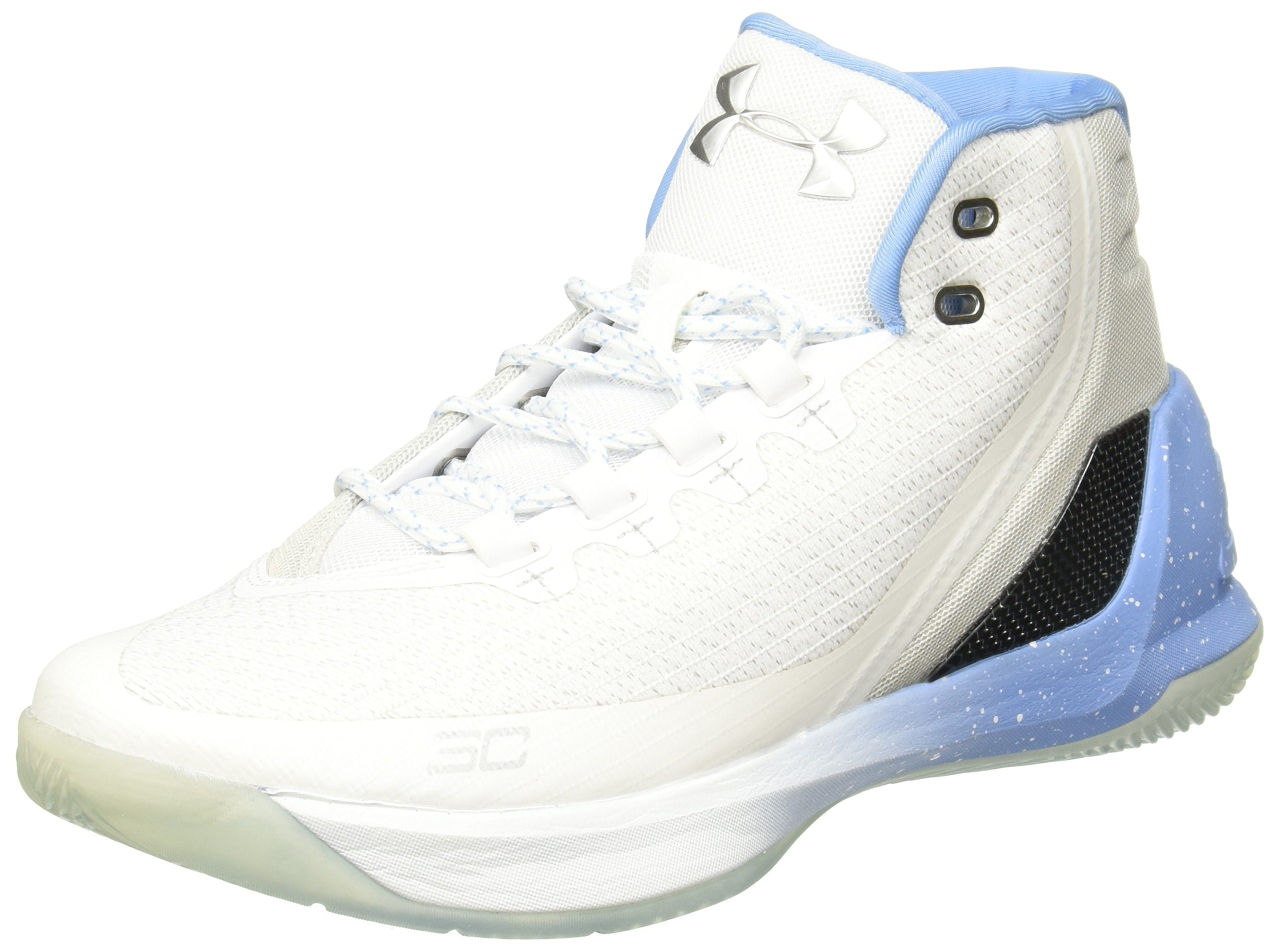 Under Armour Curry 3 Basketball Shoes - 12 - White