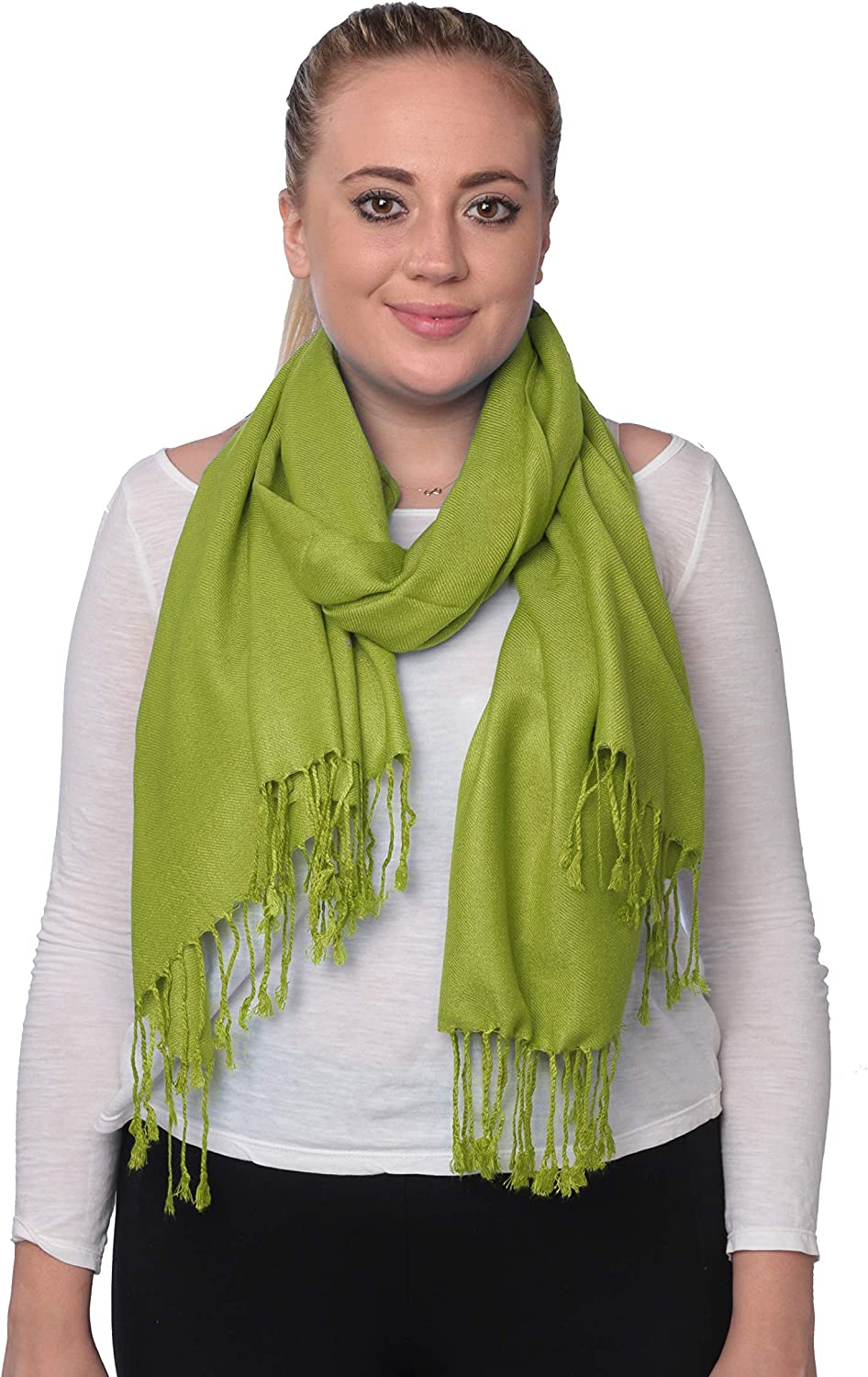 The Best Apple Green Womans Scarf