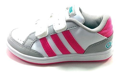 Adidas Hoops CMF INF Zapatillas Niña velcros: Amazon.es: Zapatos y complementos