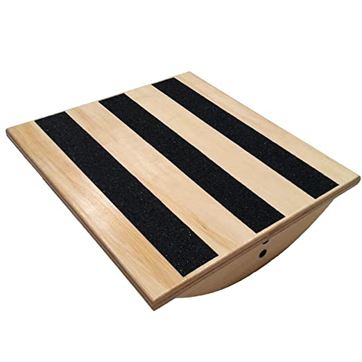 Calf Stretcher Balance Board with Variable Incline Slant