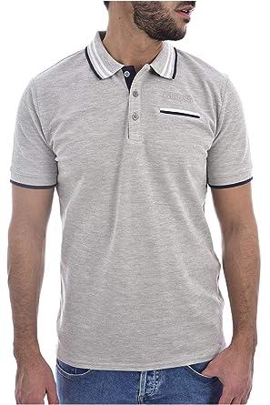 Guess Les SS Camisa de Polo para Hombre: Amazon.es: Ropa y accesorios