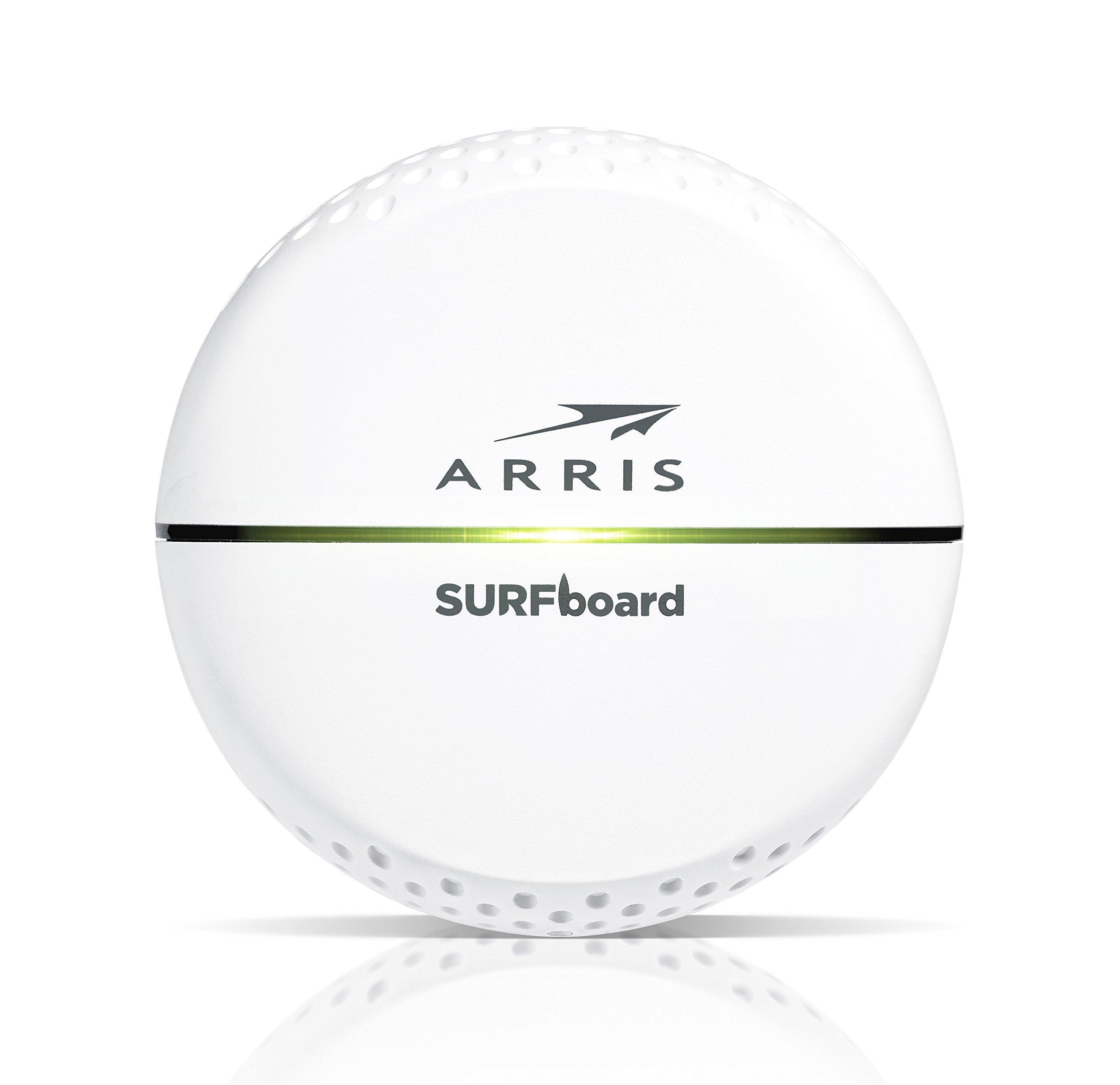 ARRIS SURFboard Wi-Fi Hotspot with Rip current Range Extender (SBX-AC1200P)