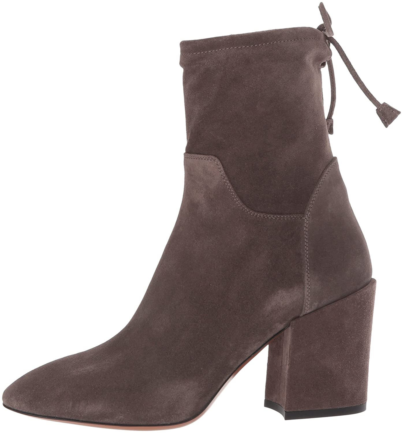 Aquatalia Women's Floria Suede Ankle Boot B06W2K59N5 7 B(M) US|Anthracite
