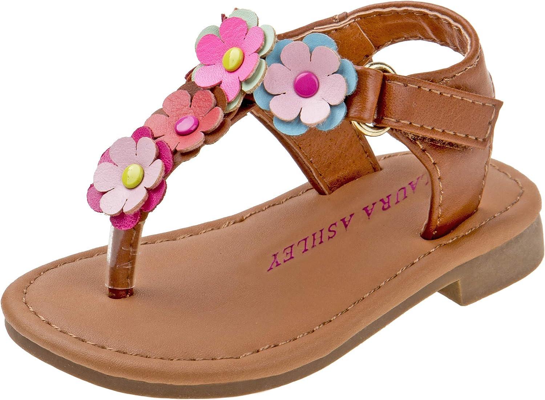 Laura Ashley Girls Multi Flower Thong