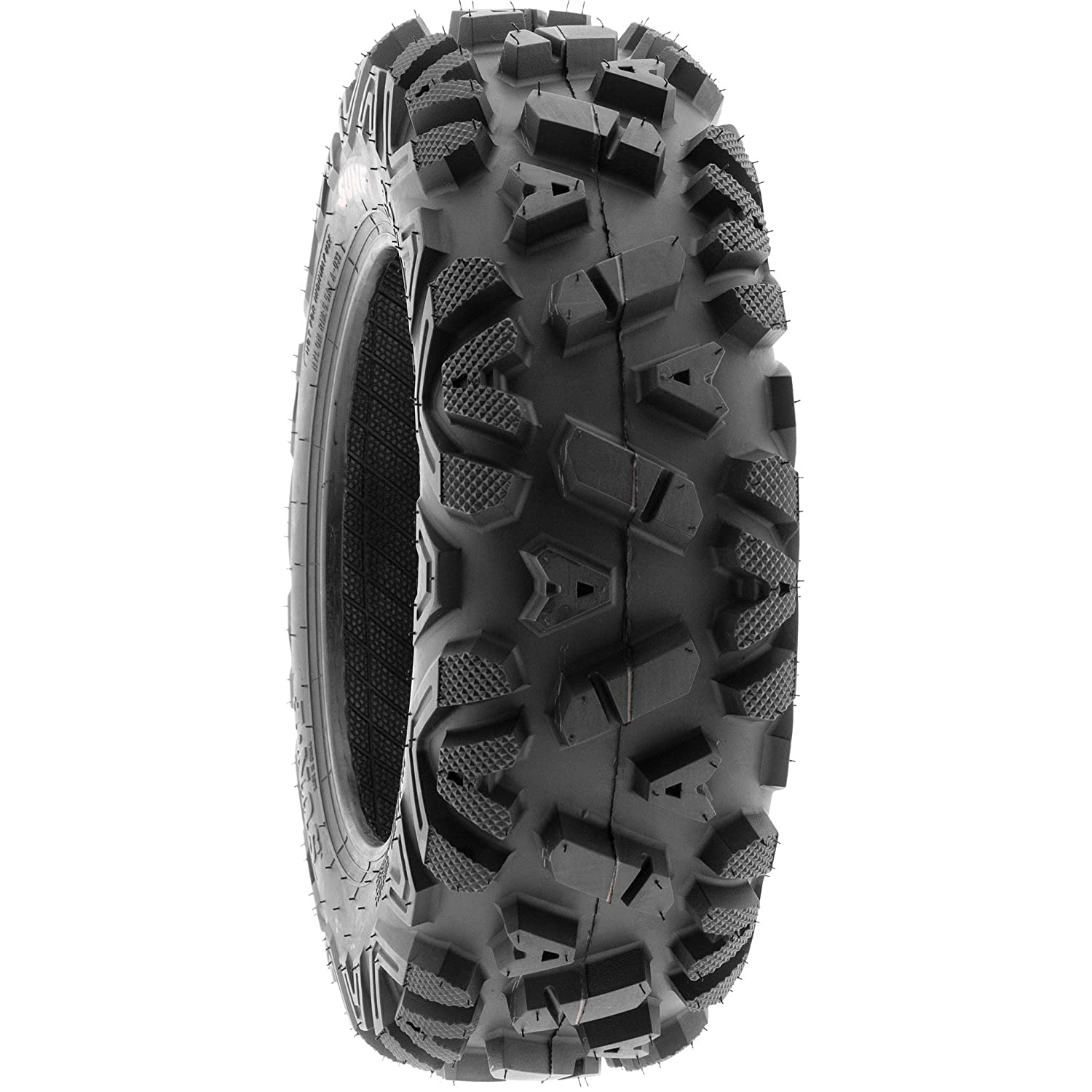 SunF 25x8-11 25x8x11 ATV UTV A//T Replacement Race 6 PR Tubeless Tires A033 POWER I, Set of 2