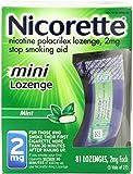 Nicorette 2 mg Mini Lozenges Mint 81 Each