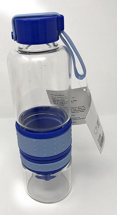 Botella de agua con cítricos exprimidor (verde): Amazon.es: Deportes y aire libre
